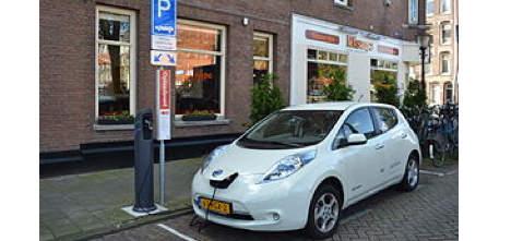 Parkeren Utrecht Electrische Auto